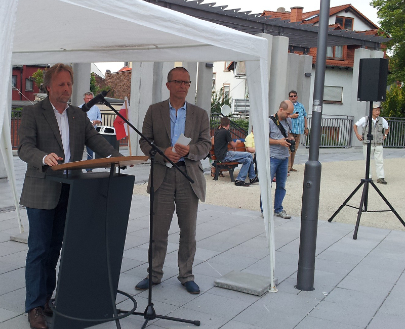 Rede zur Wiedereröffnung des Buchrainplatzes Bürgermeister Olaf Cunitz