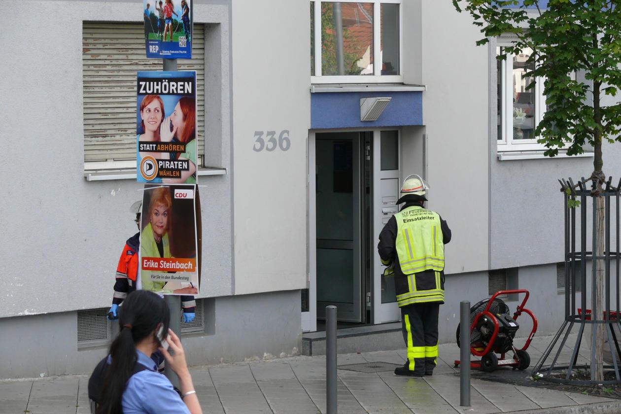 Feuerwehreinsatz am Buchrainplatz 19.08.2013 - 4
