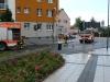 Feuerwehreinsatz am Buchrainplatz 19.08.2013 - Absperrung 2