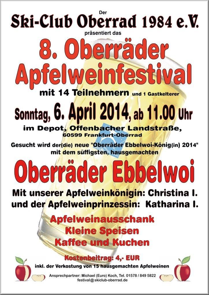 8. Oberräder Apfelweinfestival