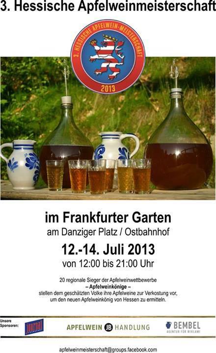 3. Hessische Apfelweinmeisterschaft 2013