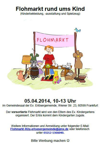 Flohmarkt Erlösergemeinde 2014