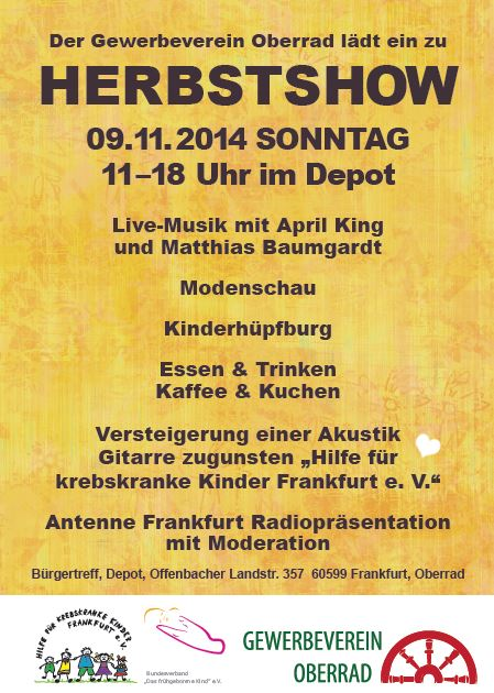 Herbstshow Gewerbeverein Oberrad