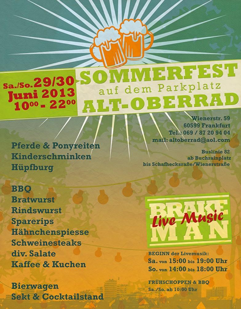 Sommerfest Alt-Oberrad