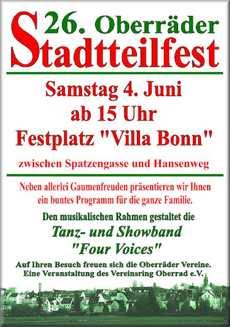 VR Plakat Stadtteilfest 2016www