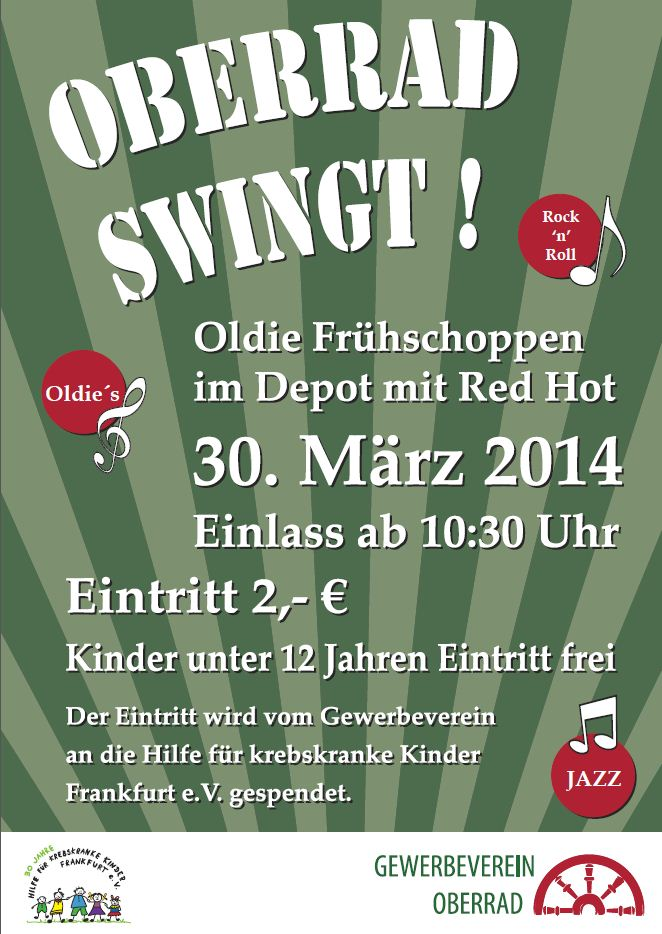 Oberrad Swingt am 30.3.2014