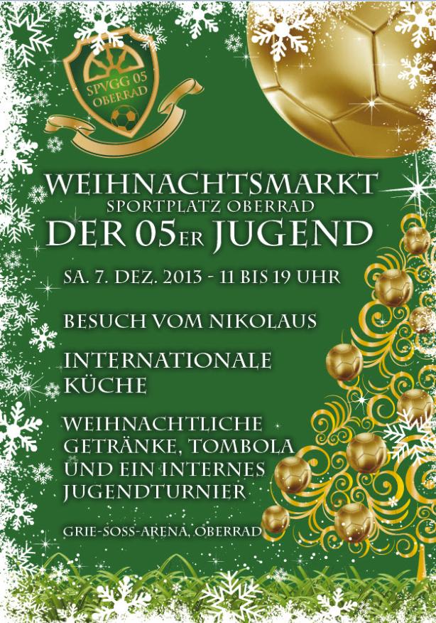 Weihnachtsmarkt 05er Jugend Oberrad